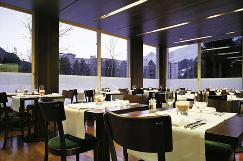 St. Moritz Hotelli Laudinella