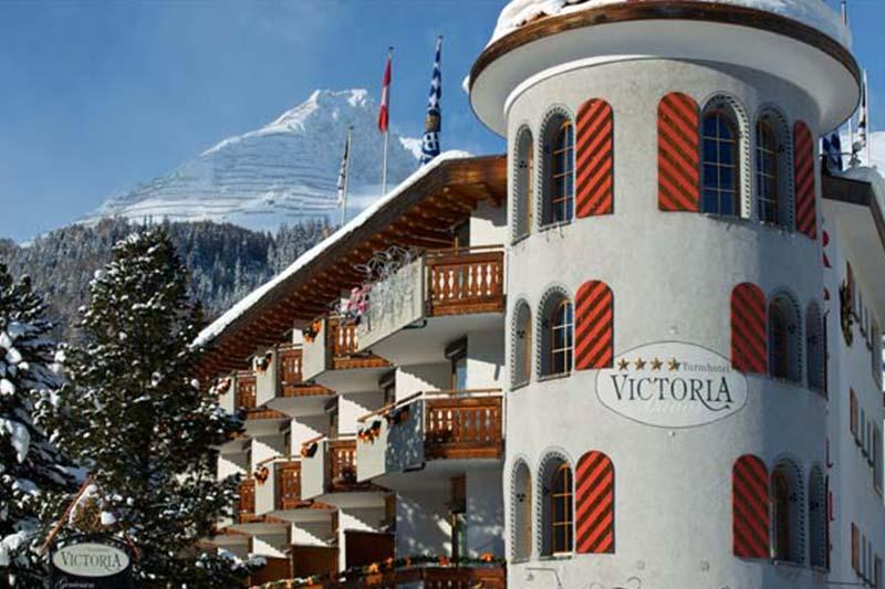 Davos Hotel Turm Victoria