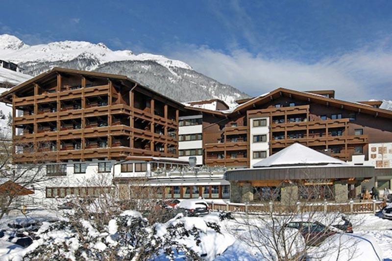 Solden hotelli Tyrolerhof