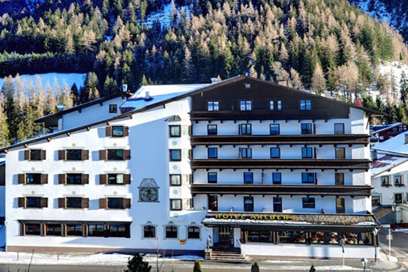St. Anton hotelli Arlberg