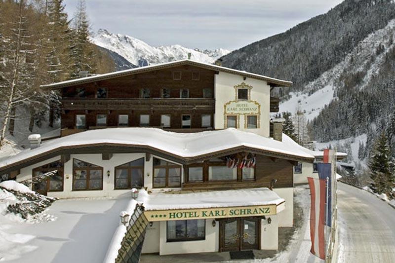 St. Anton hotelli Karl Schranz
