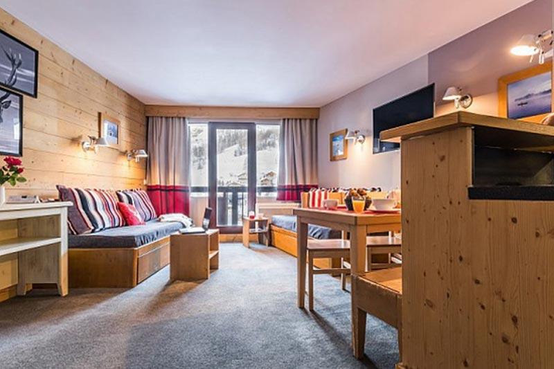 Val d´Isere huoneistohotelli Bellevarde
