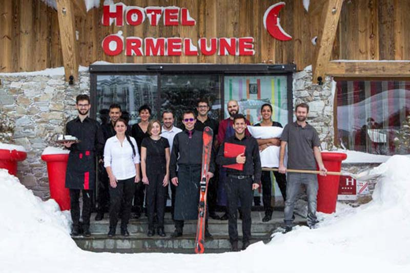Val d´Isere hotelli Ormelune