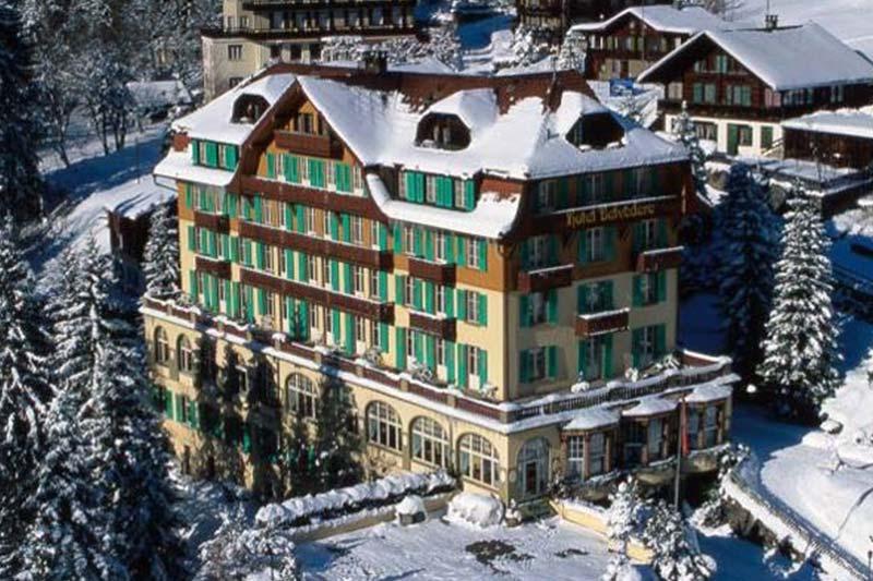 Wengen Hotelli Belvedere