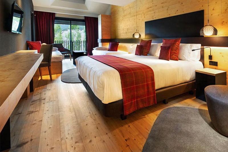 Andorra Hotelli Piolets Park